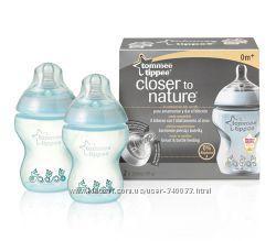 Бутылочки для кормления 150 мл, 260 мл и 340 мл TommeeTippe