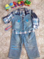 Новый крутой костюм комплект тройка для мальчика