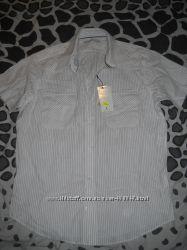 Летняя мужская рубашка без рукав Frank Q р. M-L
