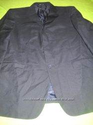 Пиджак черный мужской полушерстяной фирмы Lime.