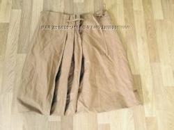 Фирменная итальянская юбка Stefanel цвета капучино