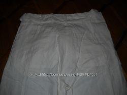 Летние белые брюки кюлоты р. 34, 36