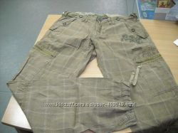 Мужские итальянские брюки Olyo с красивенной вышивкой 30, 34, 36, 38