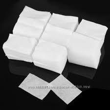 Безворсовые салфетки для снятия липкого слоя