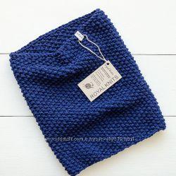 Круговой шарф снуд хомут