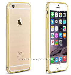Металлический бампер Love Mei для iPhone 6 и iPhone 6 Plus, бампер айфон 6