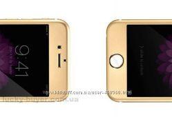 Передняя титановая панель и защитное стекло для iPhone 6 Plus