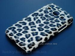 Чехлы для Samsung Core I8260 I8262 с леопардом, чехол, накладка