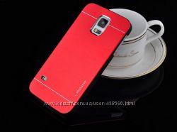 Чехлы для Samsung Galaxy S5 G900 motomo металлические, чехол Самсунг С5