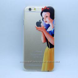 Чехлы для iPhone 6 и iPhone 6 Plus Белоснежка, чехол-накладка айфон 6