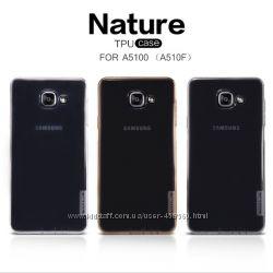 Чехлы на Samsung Galaxy A5 A510 и A7 A710 2016 Nillkin Nature силиконовые