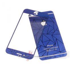 Переднее и заднее защитное 3D стекло для iPhone 6 6S Plus