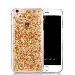 Силиконовый чехол с блестками для iPhone 6 Plus 6s Plus, чехлы