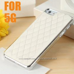 Чехлы для iphone 5 5S Luxury, чехол айфон кожа, case, накладка