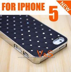 Чехлы для iphone 5 5S с кристаллами, чехол айфон со стразами, накладка