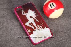 Чехлы для iphone 5 5S Pole Dance Swarovski, чехол айфон Сваровски