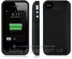 Чехол с аккумулятором 2000mAh для iPhone 4 4S