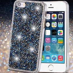 Чехол для iPhone 5 5S SE Luxury кристаллы, чехлы с камнями