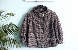 Укороченное пальто topshop
