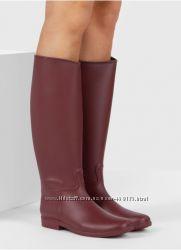 Гумові чоботи бордового кольору Barbarossa Wine Wellingtons