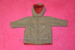 Куртка-жилетка демисезонная размер 86