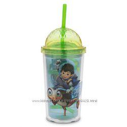 Бутылочки поильники стаканы с трубочкой от Дисней для мальчиков и девочек