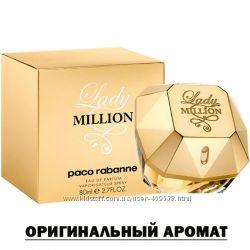 Paco Rabanne Lady Million парфюмированая вода, оригинальный аромат.