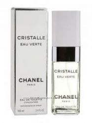 Chanel Cristalle eau verte парфюмированая вода оригинальный аромат