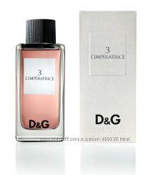 Dolce & Gabbana 3 LImperatrice парфюмированая вода - оригинальный аромат