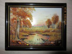 Картина з бурштину янтарь