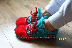 Носки-кеды ручной работы