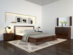 Кровать деревянная Регина  из натурального дерев