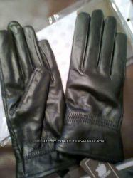 Перчатки кожаные в наличии