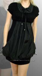 молодежное трикотажное платье , новое