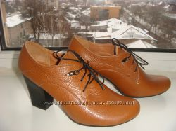 Закрытые туфли из натуральной кожи, размер 37, в наличии