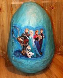 упаковка для подарков Гигантское Яйцо с сюрпризами Киндер