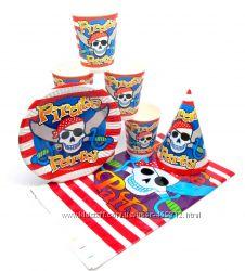 набор посуды Сокровища пиратов