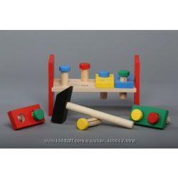 Акция Супер цены Komarovtoys Комаровтойс деревянные игрушки мольберты