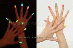 лак флуоресцентный неоновый светится в темноте