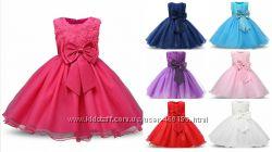 Детские нарядные пышные красивые платья Огромный выбор