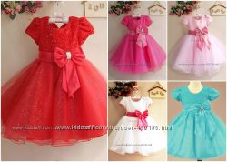 Ясмина  Нарядное яркое пышное платье для девочки В наличии 4 цвета