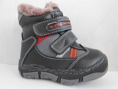 Ботинки зимние MXM из натуральной кожи на натуральном меху.