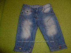 бриджи джинсовые для девочки