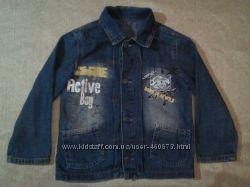Пиджак джинсовый GJ на 4года