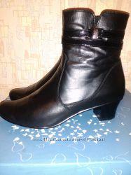 Ботинки демисезонные 41р натур. кожа