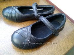 Кожаные красивые туфли Clarks, Вьетнам, 18 см