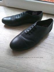 Кожаные туфли Bootleg от Clarks 40р, 26см