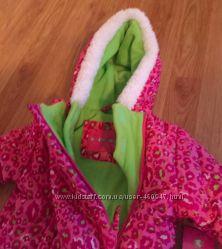 Комбинезон зима Wippette Kids 6-9m США на флисе для девочки