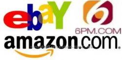 Ebay, Amazon,  6РМ, под 15 без мин веса, без мин заказа