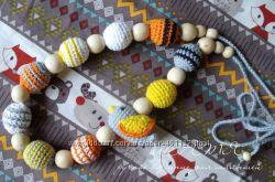 Слингобусы с птичкой Краски осени